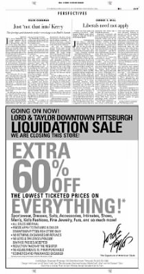 Pittsburgh Post-Gazette from Pittsburgh, Pennsylvania on November 4, 2004 · Page 17