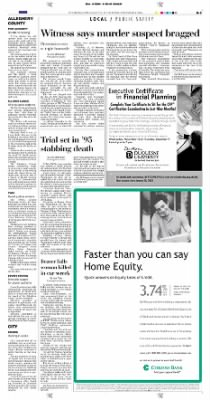 Pittsburgh Post-Gazette from Pittsburgh, Pennsylvania on November 4, 2004 · Page 21