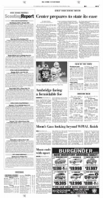 Pittsburgh Post-Gazette from Pittsburgh, Pennsylvania on November 4, 2004 · Page 119