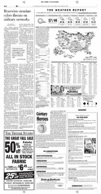 Pittsburgh Post-Gazette from Pittsburgh, Pennsylvania on November 6, 2004 · Page 2
