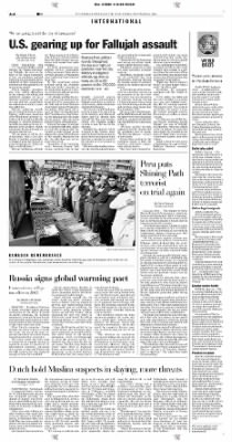 Pittsburgh Post-Gazette from Pittsburgh, Pennsylvania on November 6, 2004 · Page 4