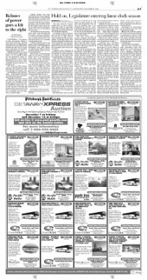 Pittsburgh Post-Gazette from Pittsburgh, Pennsylvania on November 8, 2004 · Page 7
