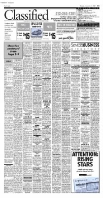 Pittsburgh Post-Gazette from Pittsburgh, Pennsylvania on November 9, 2004 · Page 47