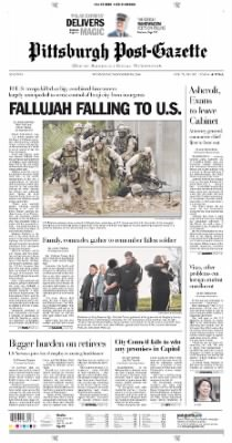Pittsburgh Post-Gazette from Pittsburgh, Pennsylvania on November 10, 2004 · Page 1
