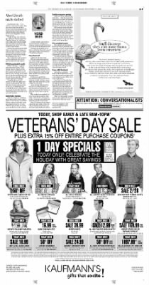 Pittsburgh Post-Gazette from Pittsburgh, Pennsylvania on November 11, 2004 · Page 9