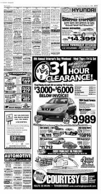 Pittsburgh Post-Gazette from Pittsburgh, Pennsylvania on November 11, 2004 · Page 57