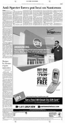 Pittsburgh Post-Gazette from Pittsburgh, Pennsylvania on November 12, 2004 · Page 15