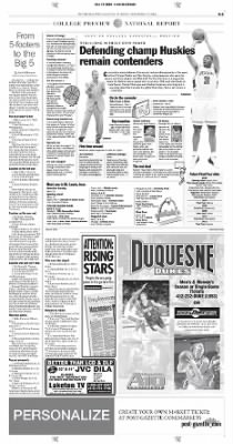 Pittsburgh Post-Gazette from Pittsburgh, Pennsylvania on November 12, 2004 · Page 53