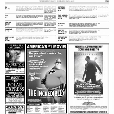 Pittsburgh Post-Gazette from Pittsburgh, Pennsylvania on November 12, 2004 · Page 91