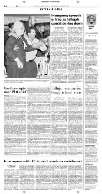Pittsburgh Post-Gazette from Pittsburgh, Pennsylvania on November 15, 2004 · Page 4