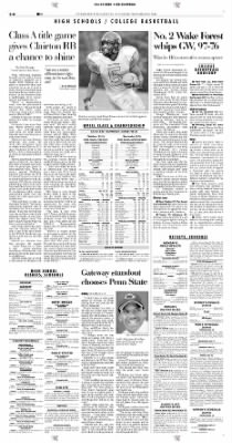Pittsburgh Post-Gazette from Pittsburgh, Pennsylvania on November 16, 2004 · Page 34