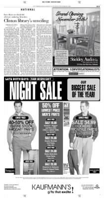 Pittsburgh Post-Gazette from Pittsburgh, Pennsylvania on November 18, 2004 · Page 11