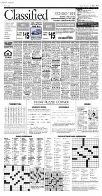 Pittsburgh Post-Gazette from Pittsburgh, Pennsylvania on November 19, 2004 · Page 47