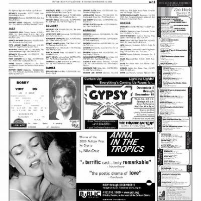 Pittsburgh Post-Gazette from Pittsburgh, Pennsylvania on November 19, 2004 · Page 77