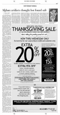 Pittsburgh Post-Gazette from Pittsburgh, Pennsylvania on November 21, 2004 · Page 3