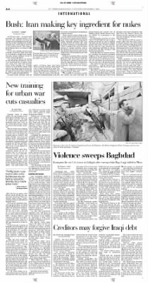 Pittsburgh Post-Gazette from Pittsburgh, Pennsylvania on November 21, 2004 · Page 4
