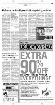 Pittsburgh Post-Gazette from Pittsburgh, Pennsylvania on November 22, 2004 · Page 9