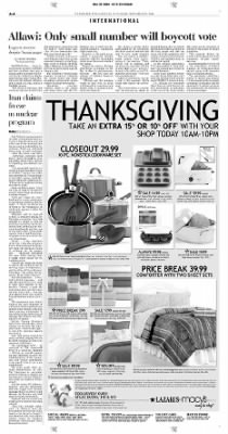 Pittsburgh Post-Gazette from Pittsburgh, Pennsylvania on November 23, 2004 · Page 4