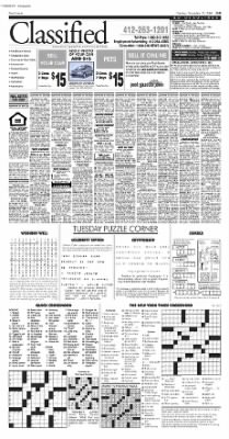 Pittsburgh Post-Gazette from Pittsburgh, Pennsylvania on November 23, 2004 · Page 37