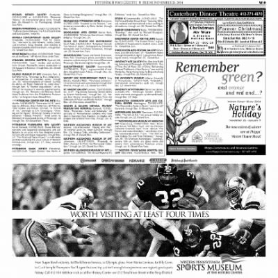 Pittsburgh Post-Gazette from Pittsburgh, Pennsylvania on November 26, 2004 · Page 83