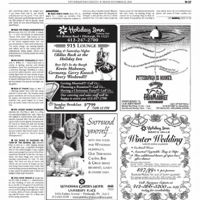 Pittsburgh Post-Gazette from Pittsburgh, Pennsylvania on November 26, 2004 · Page 110