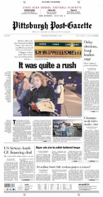 Pittsburgh Post-Gazette from Pittsburgh, Pennsylvania on November 27, 2004 · Page 1