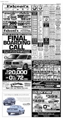 Pittsburgh Post-Gazette from Pittsburgh, Pennsylvania on November 27, 2004 · Page 56