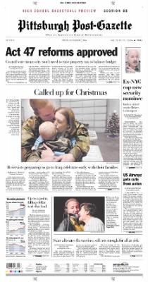 Pittsburgh Post-Gazette from Pittsburgh, Pennsylvania on December 3, 2004 · Page 1