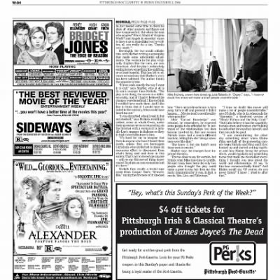 Pittsburgh Post-Gazette from Pittsburgh, Pennsylvania on December 3, 2004 · Page 83