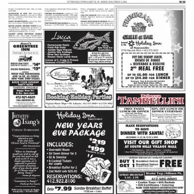 Pittsburgh Post-Gazette from Pittsburgh, Pennsylvania on December 3, 2004 · Page 94