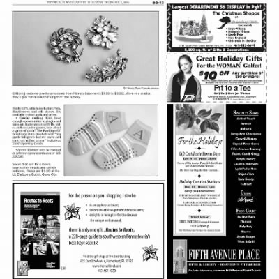 Pittsburgh Post-Gazette from Pittsburgh, Pennsylvania on December 5, 2004 · Page 96
