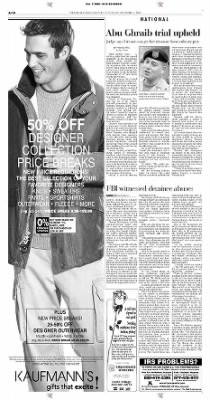 Pittsburgh Post-Gazette from Pittsburgh, Pennsylvania on December 7, 2004 · Page 10