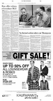 Pittsburgh Post-Gazette from Pittsburgh, Pennsylvania on December 7, 2004 · Page 16