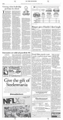 Pittsburgh Post-Gazette from Pittsburgh, Pennsylvania on December 7, 2004 · Page 38