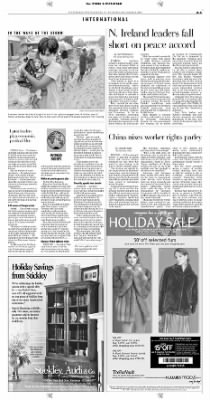 Pittsburgh Post-Gazette from Pittsburgh, Pennsylvania on December 9, 2004 · Page 5