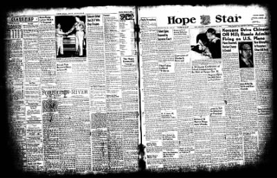 Hope Star from Hope, Arkansas on October 13, 1952 · Page 1