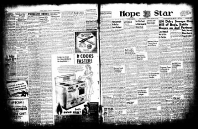 Hope Star from Hope, Arkansas on October 13, 1952 · Page 14