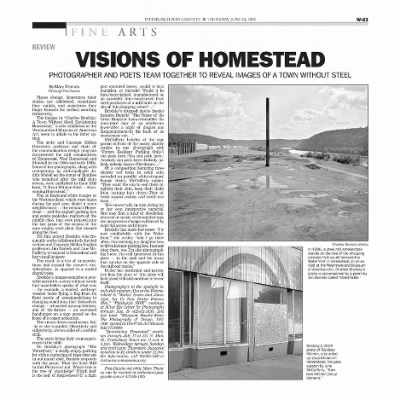 Envisioning Homestead A Town Without Steel