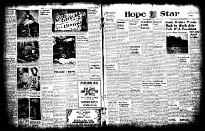 Hope Star from Hope, Arkansas on October 27, 1952 · Page 1