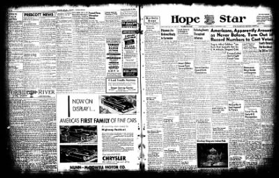 Hope Star from Hope, Arkansas on November 3, 1952 · Page 18