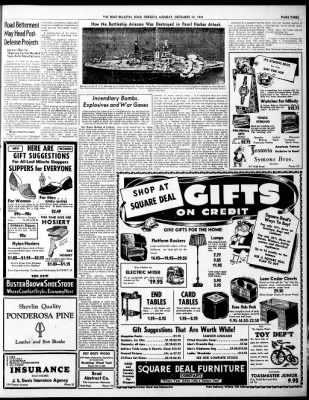 The Bend Bulletin from Bend, Oregon on December 22, 1941