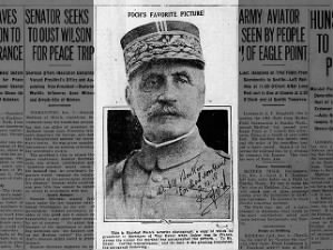 Ferdinand Foch, commander in chief of the Allied armies