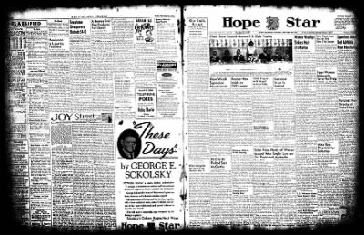 Hope Star from Hope, Arkansas on November 29, 1952 · Page 3