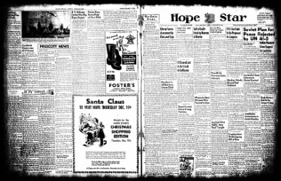 Hope Star from Hope, Arkansas on December 2, 1952 · Page 1