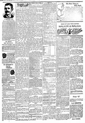 Logansport Pharos-Tribune from Logansport, Indiana on March 30, 1894 · Page 3
