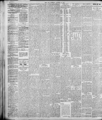 The Age from Melbourne, Victoria, Australia on August 12, 1919 · Page 4