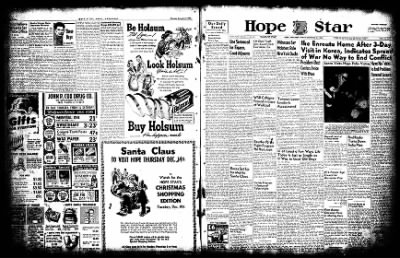 Hope Star from Hope, Arkansas on December 5, 1952 · Page 2