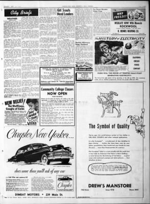 Herald and News from Klamath Falls, Oregon on September 26, 1949 · Page 3