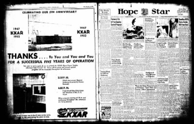 Hope Star from Hope, Arkansas on December 13, 1952 · Page 1