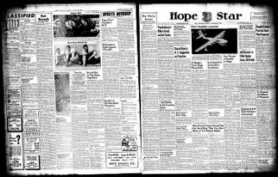 Hope Star from Hope, Arkansas on November 3, 1947 · Page 1
